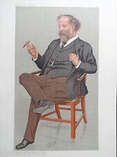 Original Vanity Fair Print; Joseph William Comyns Carr - 1893 - Art/Drama Critic