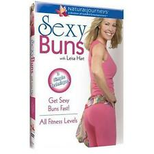 LEISA HART SEXY BUNS AEROBIC DANCE WORKOUT DVD NEW SEALED EXERCISE FITNESS