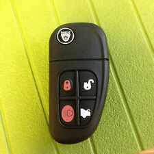 JAGUAR XJ XJR X S type 4 BUTTON FLIP CENTRAL LOCK REMOTE KEY ALARM FOB CAN CUT