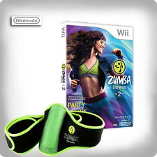 Zumba Fitness 2 - with fitness Belt Nintendo Wii *in Excellent Condition*