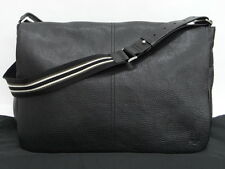 Auth Dunhill Men's Shoulder Messenger Bag Leather 0 Ship 15130720400 f14F