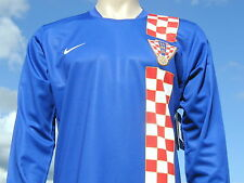 BNWT Rare Croatia International Home LS Retro Player Issue World Cup Shirt XL