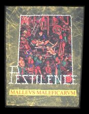 Pestilence - Malleus Malleficarum (Hol), Backpatch