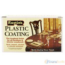 RUSTINS Revêtement plastique brillant clair 1 litre Manteau meubles de protection