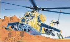 Mil 24 Hind D/E Helicopter Plastic Kit 1:72 Model 0014 ITALERI
