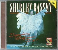 Bassey, Shirley Legendary Performer 24 Karat Gold CD Audiophile Legends OOP