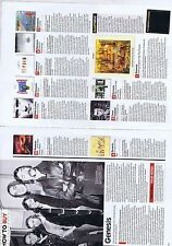 GENESIS original 2 page magazine clipping