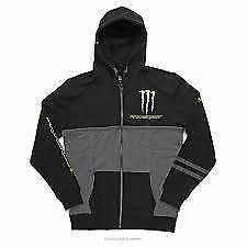 Pro Circuit Monster Energy Mens Casual Covert hoody XX/Large black/grey CL002XXL