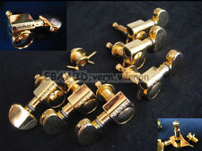 NEW 3R/3L GROVER ROTOMATIC GUITAR TUNING MACHINES PEGS 305 GOLD