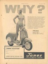 1961 James 150 Scooter Motorcycle Ad wl6492-9HUSD3