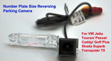 Number Plate Reverse Camera Parking Line VW Jetta Touran Passat Caddy Skoda T5