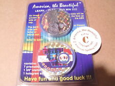 POGS UNOPENED PACK AMERICA THE BEAUTIFUL RARE