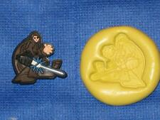 Luke Star Wars Silicone Push Mold 840 For Cake Chocolate Resin Clay Fondant
