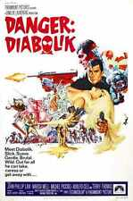 Danger Diabolik Poster 01 A4 10x8 Photo Print