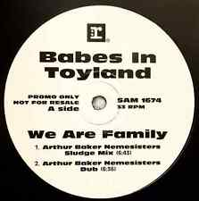 """BABES IN TOYLAND - We Are Family (Mixes) (12"""") (Promo) (EX/G)"""