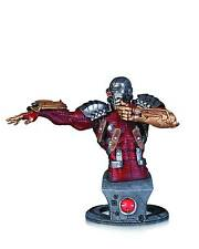 DC: Super-Villains: NEW 52 DEADSHOT bust by JIM LEE- (arrow/batman/statue)