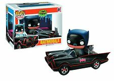 Batman 1966 Classic TV series BATMOBILE Pop Vinyl Vehicle (NEW) U.S. Seller