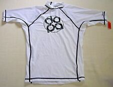 NEW Dopa Fitted Rashguard Surfing Mens XL Dopamine White Fits Body Like a Glove