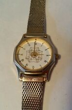 VFW Ladies Auxiliary Quartz Watch Veterans Of Foreign Wars Stainless Steel Band