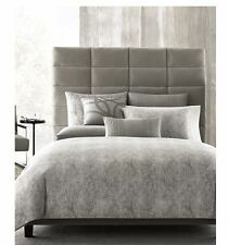 NEW Hotel Collection Eclipse Heather Gray KING Duvet Cover MSRP $360 FREE SHIP