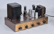EICO HF-20 Mono tube integrated Amplifier Works Sounds Great 6L6 Hickok Tested