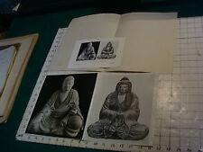 Japan Art photo--HACHIUMAN as Priest & Shinto Goddess  Japan #284 + paper