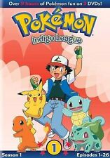 Pokemon S1 Indigo League Set 1 (2013) - Used - Dvd