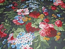 """Rare Ralph Lauren Cossette Isadora French Country Floral Tablecloth 58"""" x 80"""""""