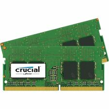 Crucial 16GB KIT 2 x 8GB DDR4 2133 MHz PC4-17000 SODIMM 260-Pin Laptop Memory