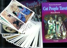 CAT PEOPLE TAROT SET -  Katzen Tarot - 78 Tarotkarten, Buch & Box 1995 - TOP!