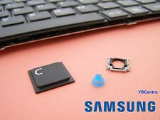 Replacement Single Key Samsung NP-R530 RV510 R620 S3510 E352 clip + cap + rubber