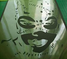 NEW M12 CATWOMAN JOKER BATMAN Airbrush Stencil Mask Paint Step Movie Comics