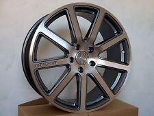 MTM Bimoto 9x20 ET42 5x112 Titan-Poliert Felge Rad Audi VW Seat Skoda Bentley