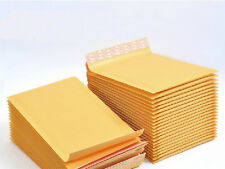 20 x Kraft Bubble Envelopes Padded Mailers Shipping Self-Seal Bags 110x178mm