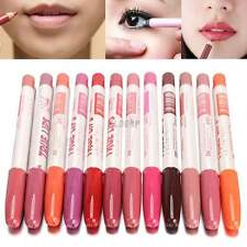 12 Colors Pro Waterproof Professional Lipliner Makeup Lip Liner Pen Pencil NEW