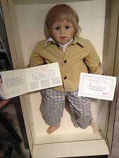 Waltraud hanl ZAPF BAMBOLA Nick con OVP & certificato (((ottimo stato)))