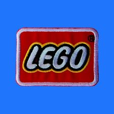 LEGO Logo Banner Kids Toys Patch Embroidered Sew Iron On