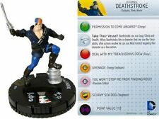 DC HEROCLIX THE FLASH SET DEATHSTROKE #58 super rare