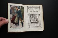 RARE EDITION POETICAL WORKS OF ROBERT BURNS