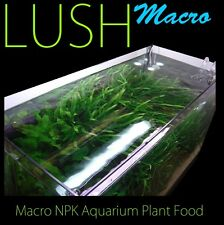 LUSH Macro Aquatic Fertiliser 1 litre Aquarium Plant Food Fish Tank Fertilizer