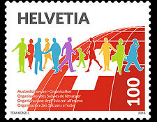 Zwitserland / Suisse - Postfris/MNH - Organisation of the Swiss Abroad 2016