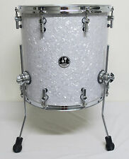 EXCELLENT SONOR S-CLASSIX 16 x 16 Birch FLOOR TOM DRUM, WHITE PEARL, FREE SHIP!