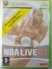 XBOX 360 game NBA Live 07 ENGL used but GOOD