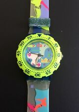 SWATCH Scuba SDN 105 Over The Wave 1993 Originals Taucher diving Neu New TOP!