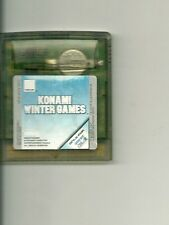 JEU GAME BOY COLOR NINTENDO : KONAMI WINTER GAMES -SPORTS D' HIVER JEU OLYMPIQUE