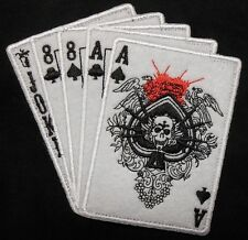 DEAD MANS HAND ACES & 8'S NAVY SEAL SPECIAL WARFARE OPERATOR SWAT VELCRO PATCH