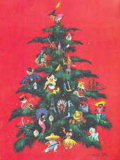 Christmas Tree by Frans Van Lamsweerde vintage art