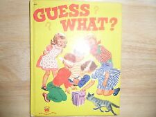 Guess What?, A Wonder Book, 1953(Children's Hardcover)