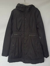 New NR278674MI Zella Montreal Luxe Hooded Parka BLACK MEDIUM