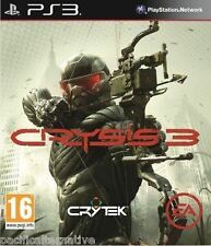 jeu CRYSIS 3 pour Playstation 3 PS3 francais game spiel juego gioco fps NEUF new